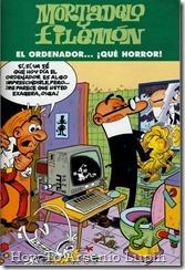 P00161 - Mortadelo y Filemon  - El ordenador #161