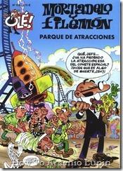 P00166 - Mortadelo y Filemon  - Parque de atracciones.howtoarsenio.blogspot.com #166