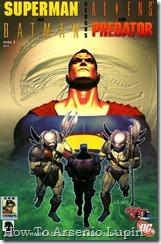 Superman-Batman vs Aliens-Predator 1