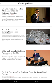 NYTimes - Breaking News Screenshot 1