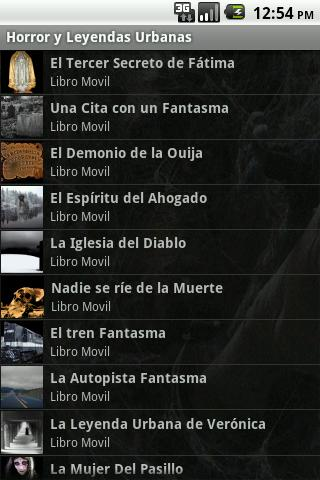 Horror y Leyendas Urbanas - screenshot