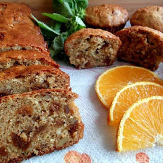 Figgie, Nutty, Cheese Quick Bread or Muffins.