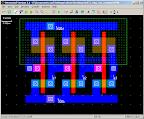 Ring oscillator layout