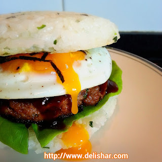 Japanese Rice Burger