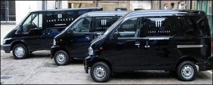 delivery vans jane packer