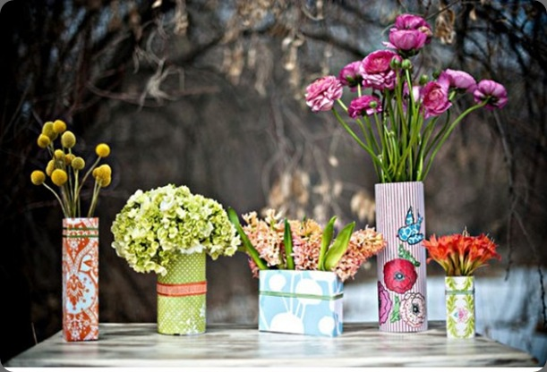 diy-tin-can-vases-centerpieces-affordable-wedding-reception-idesa-580x390 the sweetest occasion