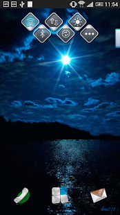 Sea Night Sky Live Wallpaper