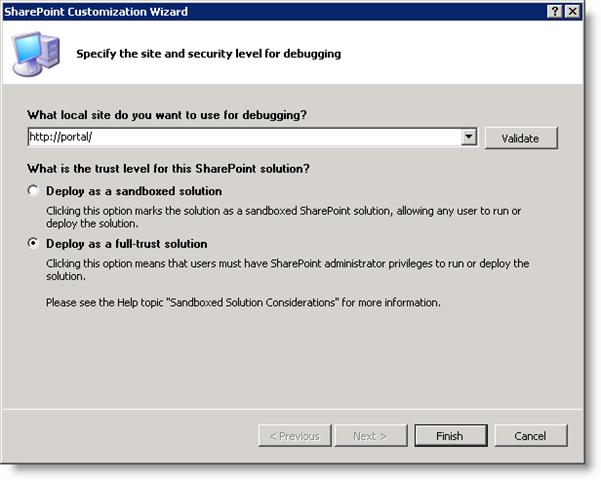 Creating Custom SharePoint 2010 Cmdlets using Visual Studio 2010