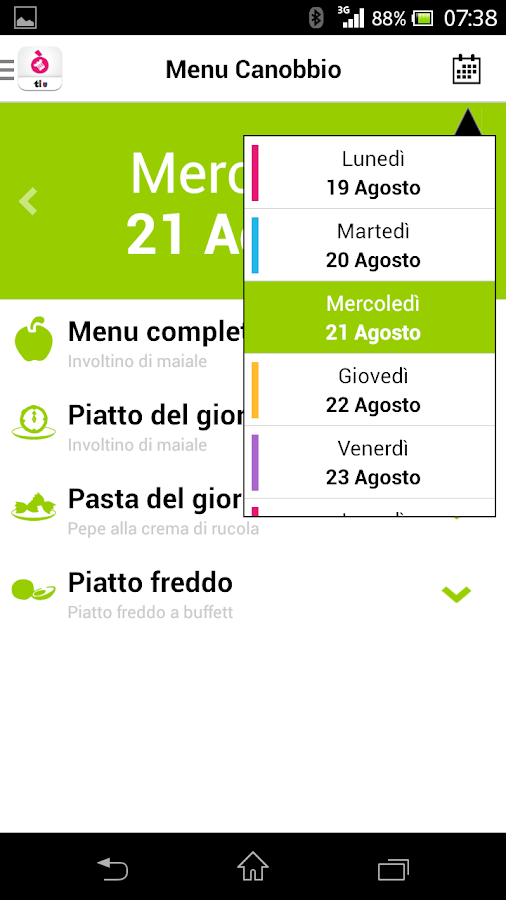 Restò- screenshot