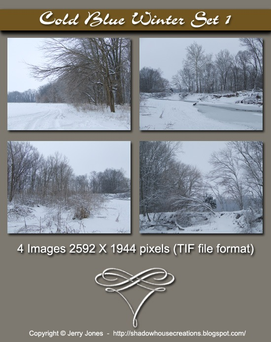 Cold Blue Winter Image Pack Banner