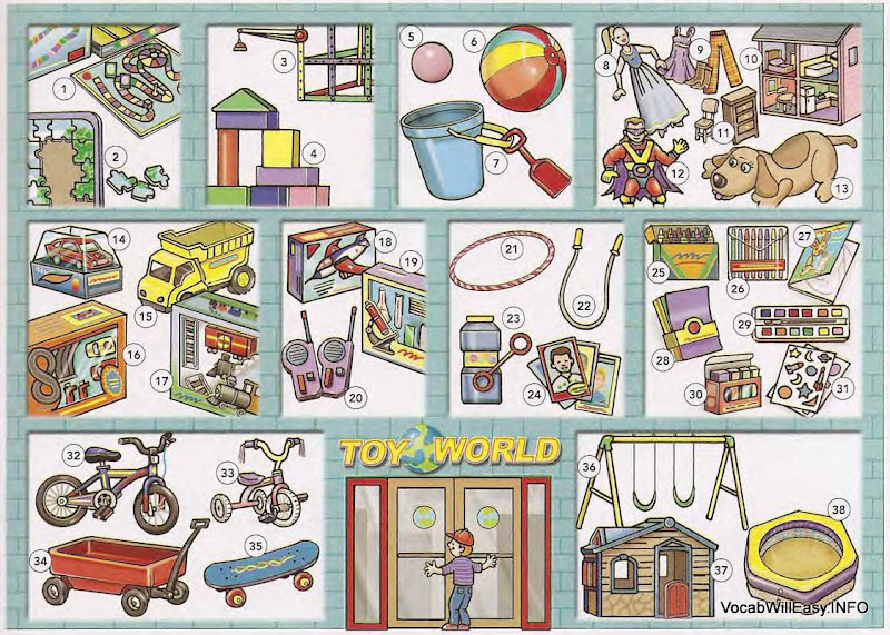 The Toy Store Online Dictionary For Kids