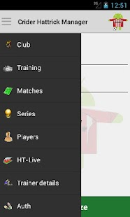 Crider Hattrick Manager- screenshot thumbnail