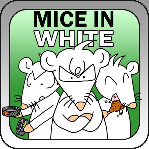 Mice in White LOGO-APP點子