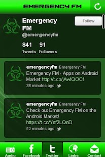 Emergency FM Drum and Bass App- screenshot thumbnail