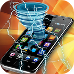 Tornado Electric Joke screen 1.0.2 Apk