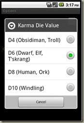 EDDR - Karma Options