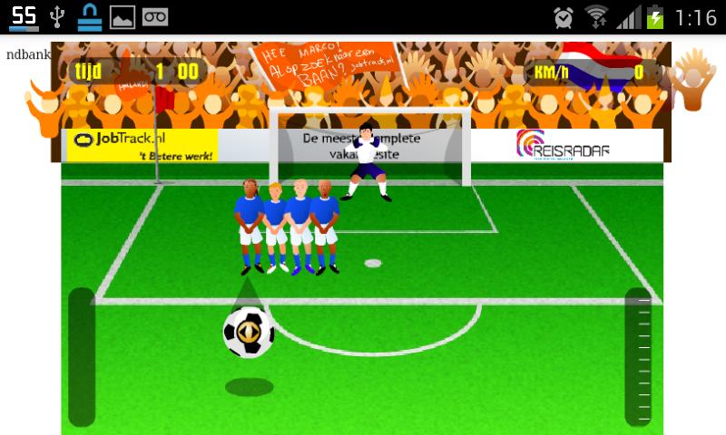 Juegos de Penales- screenshot