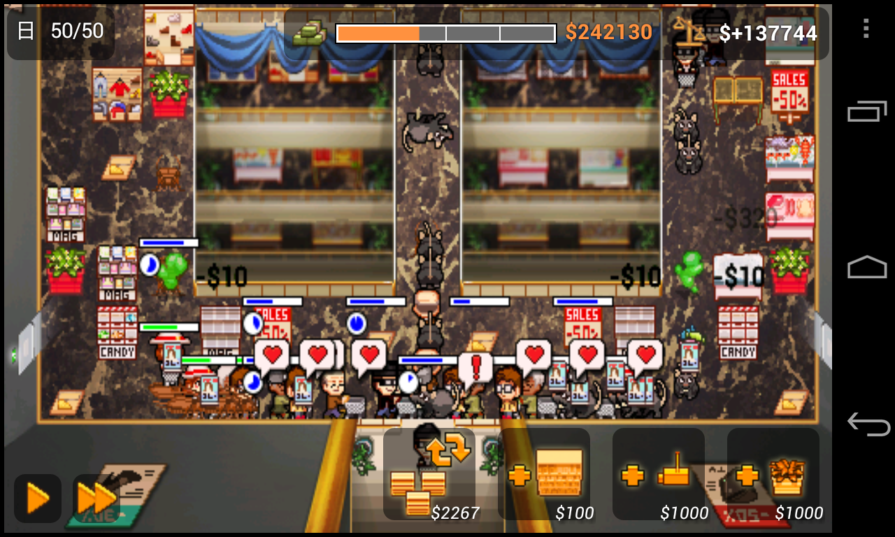 Mini Market Tower Defense - screenshot