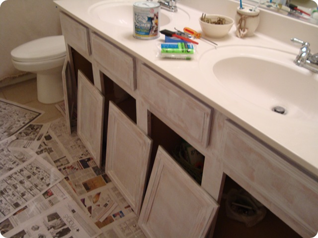 How To Repaint Bathroom Cabinets White how to repaint bathroom cabinets white | bar cabinet
