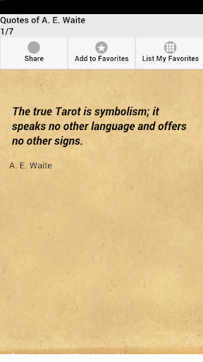 Quotes of A. E. Waite