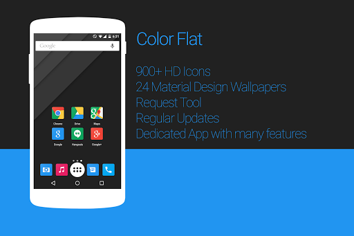 Color Flat - Icon Pack