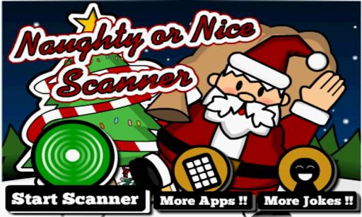 Naughty or Nice Scanner