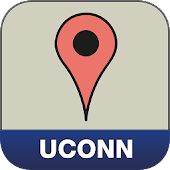UConn Storrs Campus Map
