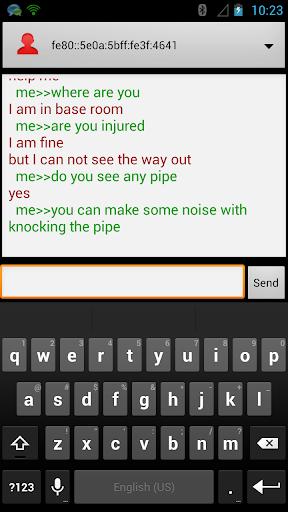 IPv6 Emergency chat