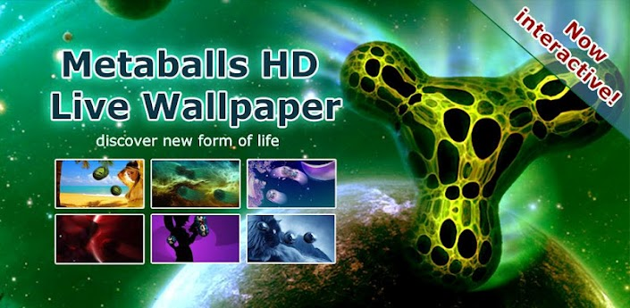 Metaballs HD Live Wallpaper Full apk