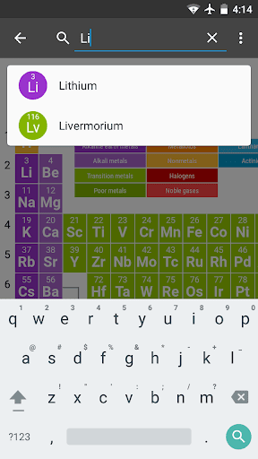 Periodic Table - Download