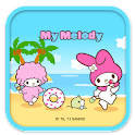 My Melody Cool Beach Theme icon