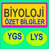 Biyoloji YGS LYS Ozet Bilgi