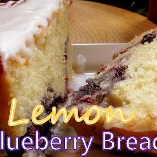 LEMON BLUEBERRY BREAD.