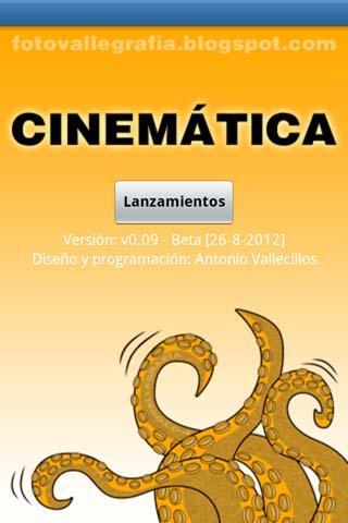 Cinemática- screenshot