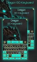 Screenshot of Dragon GO Keyboard Theme