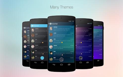 HoverChat Free (Ninja SMS) Screenshot 2