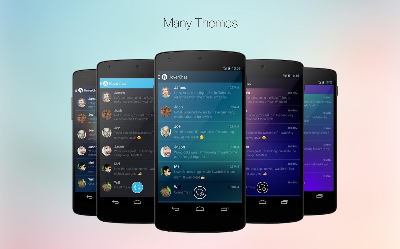 HoverChat Free (Ninja SMS)- screenshot