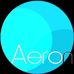 AERON HD Theme Nova, ADW, GO v7