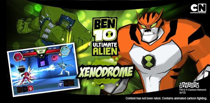 Бен 10: ксенодром / Ben 10 Xenodrome v 1.1.3 [MOD] (куча бабда) Android