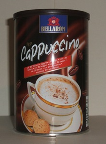 PFP challenge 87 - coffee & cream (before pic of tin)