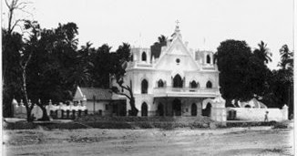 Bombay Photo Images[ Mumbai]: DADAR- PORTUGUESE CHURCH THEN AND NOW -BEFORE  ENGLISH STARTED CALLING THE PLACE DADAR(STEPS) IT WAS KNOWN AS 'SALVESONG'  BECAUSE OF THE CHURCH OF NOSSA SENORA DA SALVECAO