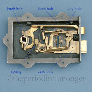 Inside The Davenport Rim Lock Theperiodironmonger