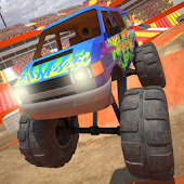 Crazy Driver Monster Truck 3D