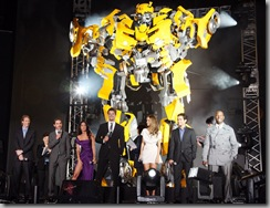 The cast of Transformers: Revenge of the Fallen [click to enlarge]