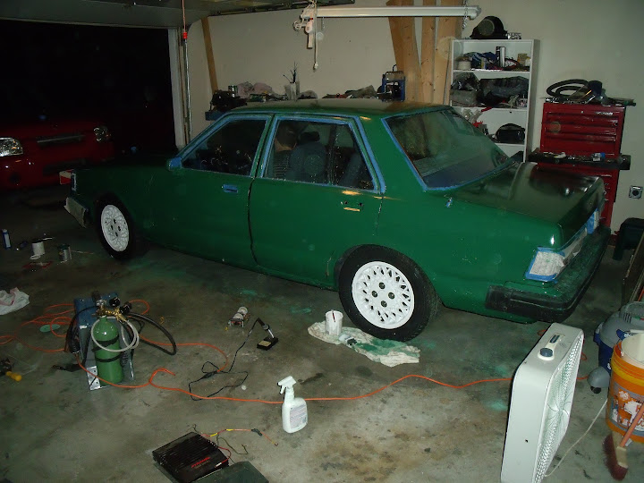 How to paint your car with Rustoleum - Body/Interior - Ratsun Forums