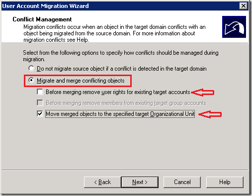 User Account Migration and Merging – Part I (ADMT