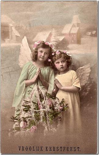 fotos antiguas de niños rezando