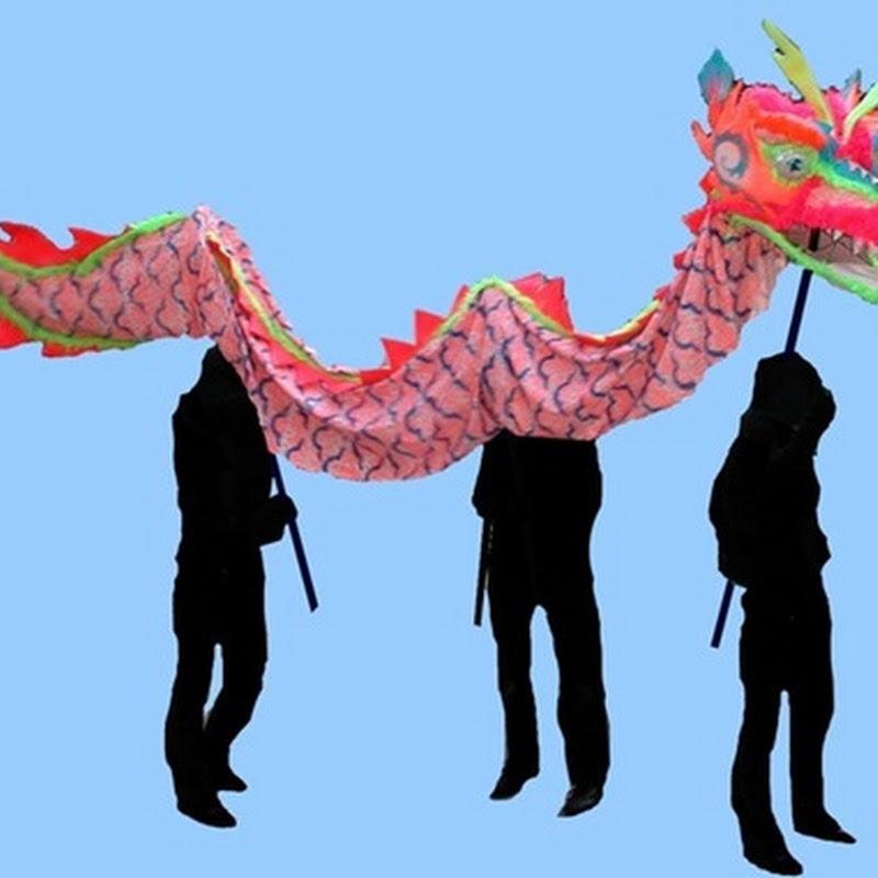 Como hacer un dragón chino correcalles