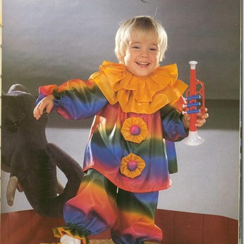 Ideas para un disfraz de payaso para niño