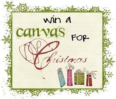 Christmas Canvas Giveaway